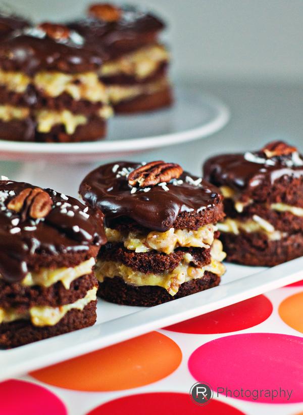 german chocolate cake, chocolate cake, coconut chocolate cake